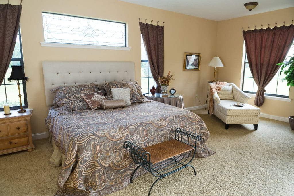 Windemere - Master Bedroom - Curington Homes - Ocala Florida Contractor