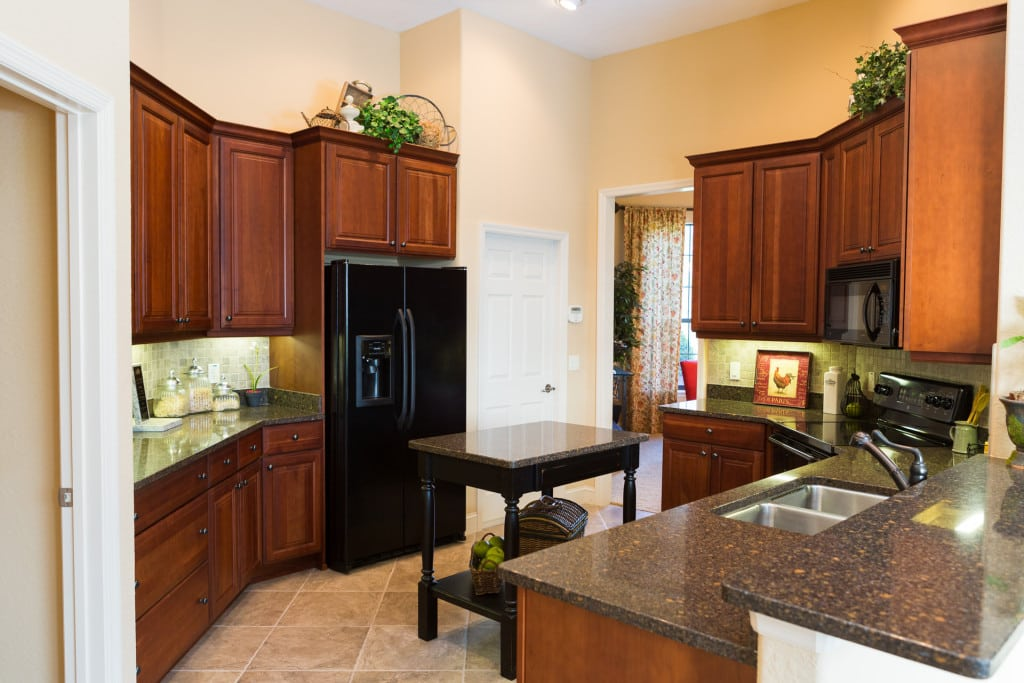 Windemere - Kitchen - Wood Cabinets - Curington Homes - Ocala Florida Contractor