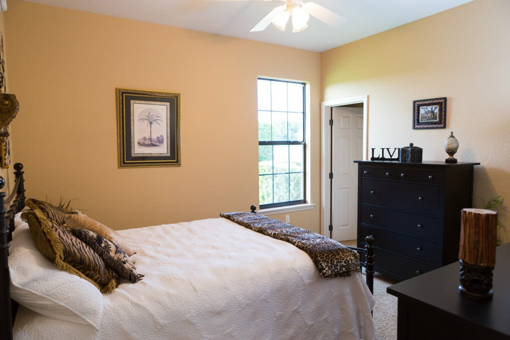 Windemere - Guest Bedroom - Curington Homes - Ocala Florida Contractor