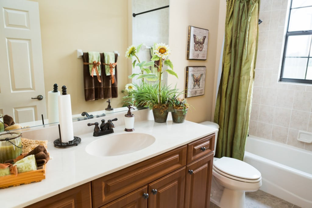Windemere - Guest Bathroom - Curington Homes - Ocala Florida Contractor