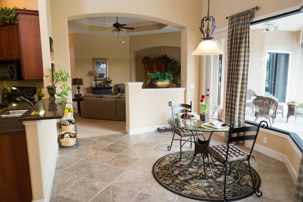 Windemere - Breakfast Nook - Curington Homes - Ocala Florida Contractor