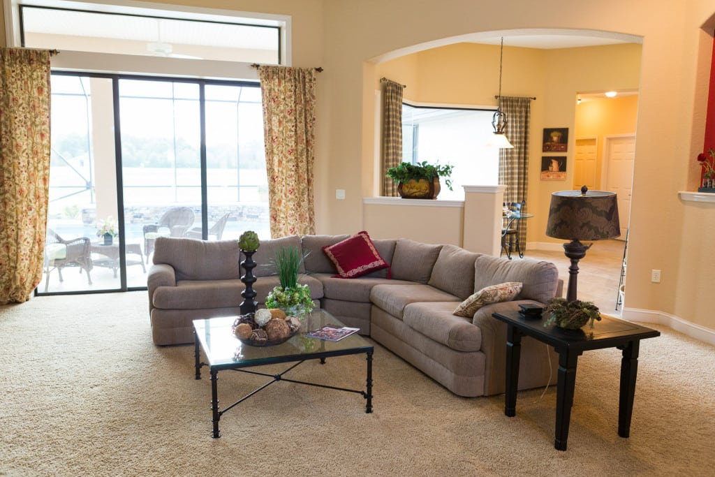 Windemere - Living Room - Curington Homes - Ocala Florida Contractor