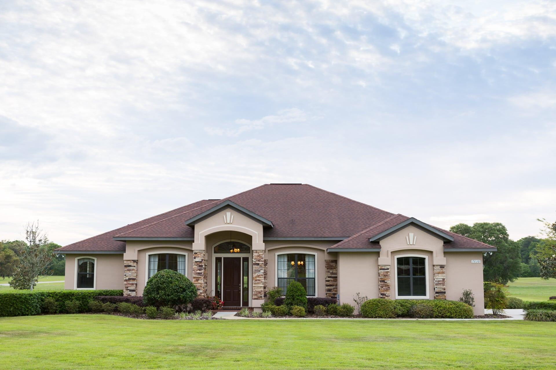 Windemere - Front Exterior - Curington Homes - Ocala Florida Contractor