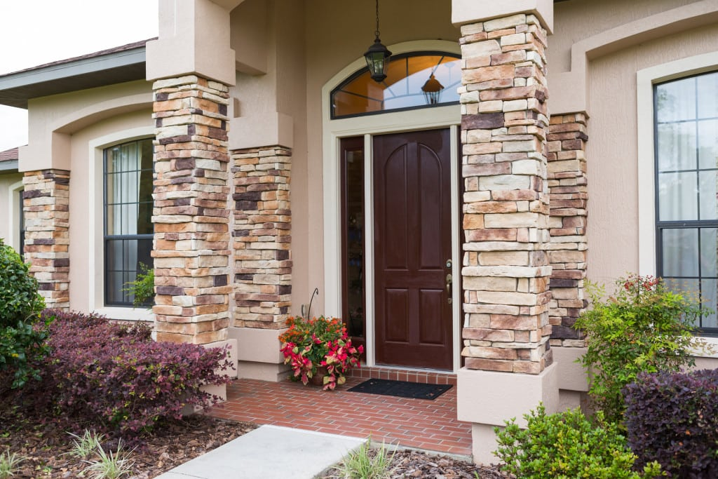 Windemere - Front Entry Exterior - Curington Homes - Ocala Florida Contractor