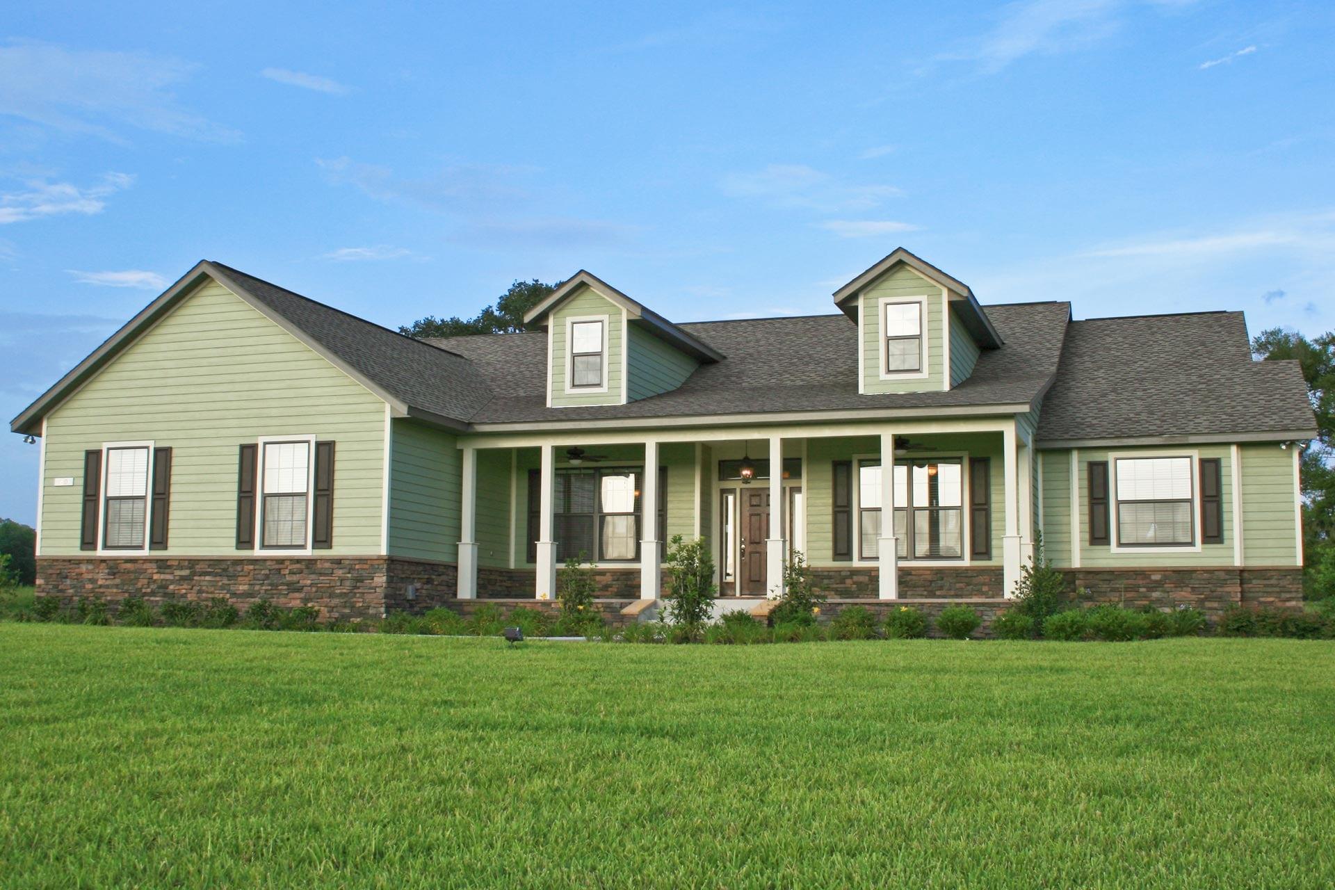 Wellington Country - Front Exterior - Curington Homes - Ocala Florida Contractor