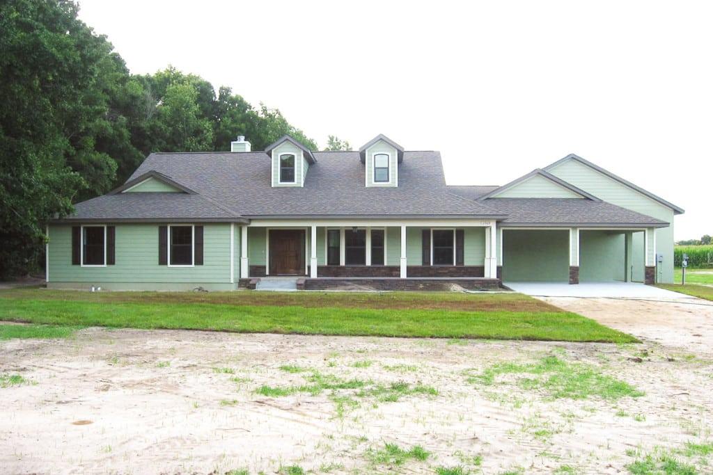 Drifton - Front Exterior - Curington Homes - Ocala Florida Contractor