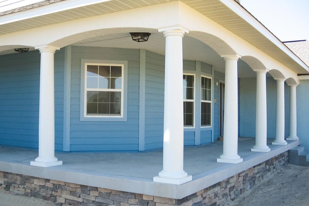 Drifton - Front Porch Exterior - Curington Homes - Ocala Florida Contractor