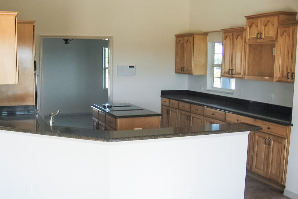 Drifton - Kitchen Wood Cabinets - Curington Homes - Ocala Florida Contractor