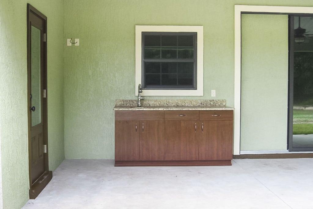 Drifton - Outdoor Kitchen - Curington Homes - Ocala Florida Contractor