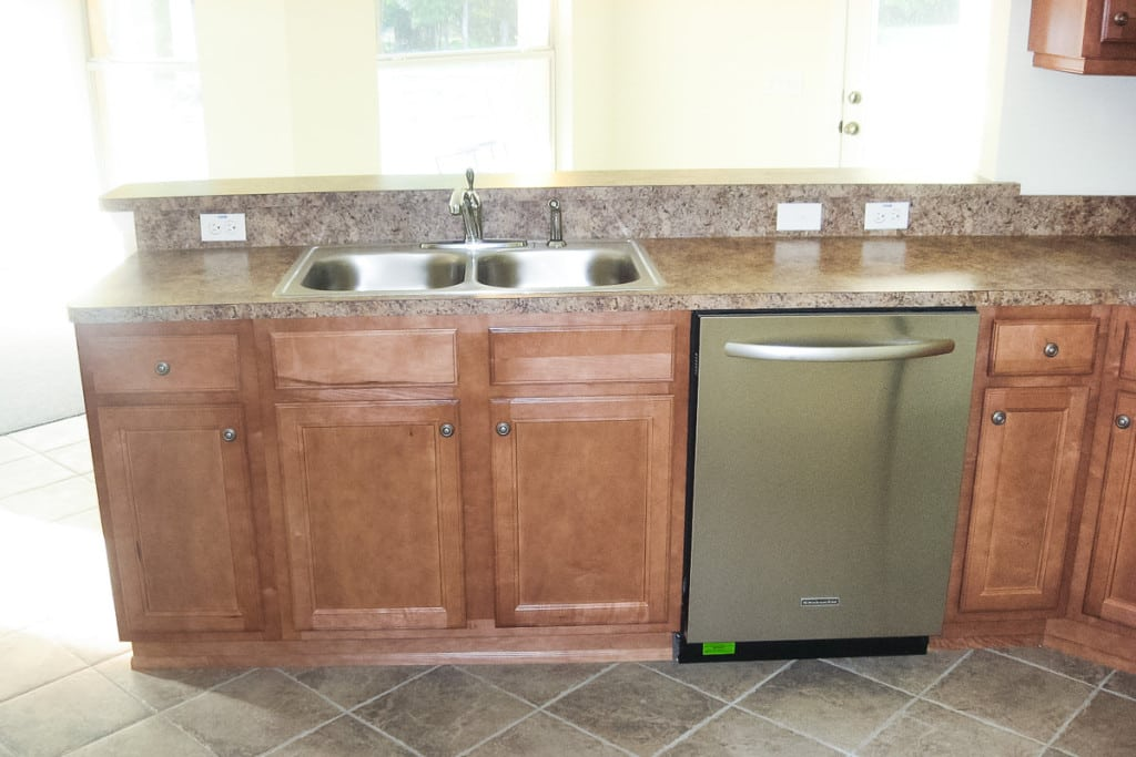 Hawthorne - Kitchen Cabinets - Curington Homes - Ocala Florida Contractor