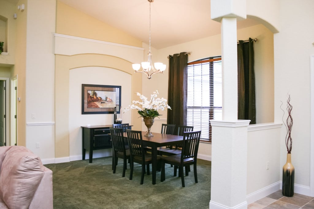 Jamestown - Dining Room - Curington Homes - Ocala Florida Contractor