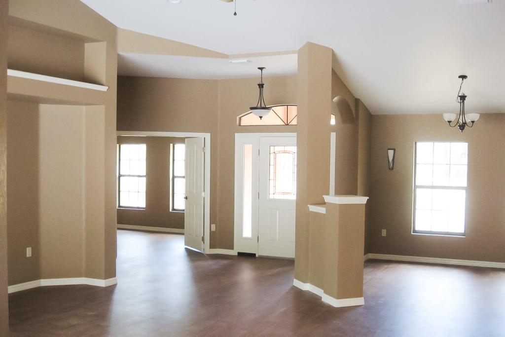 Jamestown - Foyer Dining Room - Curington Homes - Ocala Florida Contractor