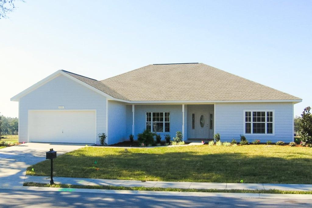 Jamestown - Front Entry Door - Curington Homes - Ocala Florida Contractor