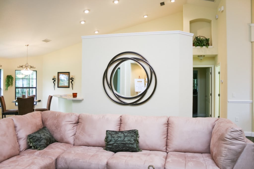 Jamestown - Living Room - Curington Homes - Ocala Florida Contractor