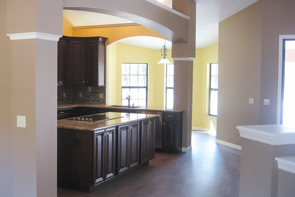 Jamestown - Kitchen Nook - Curington Homes - Ocala Florida Contractor