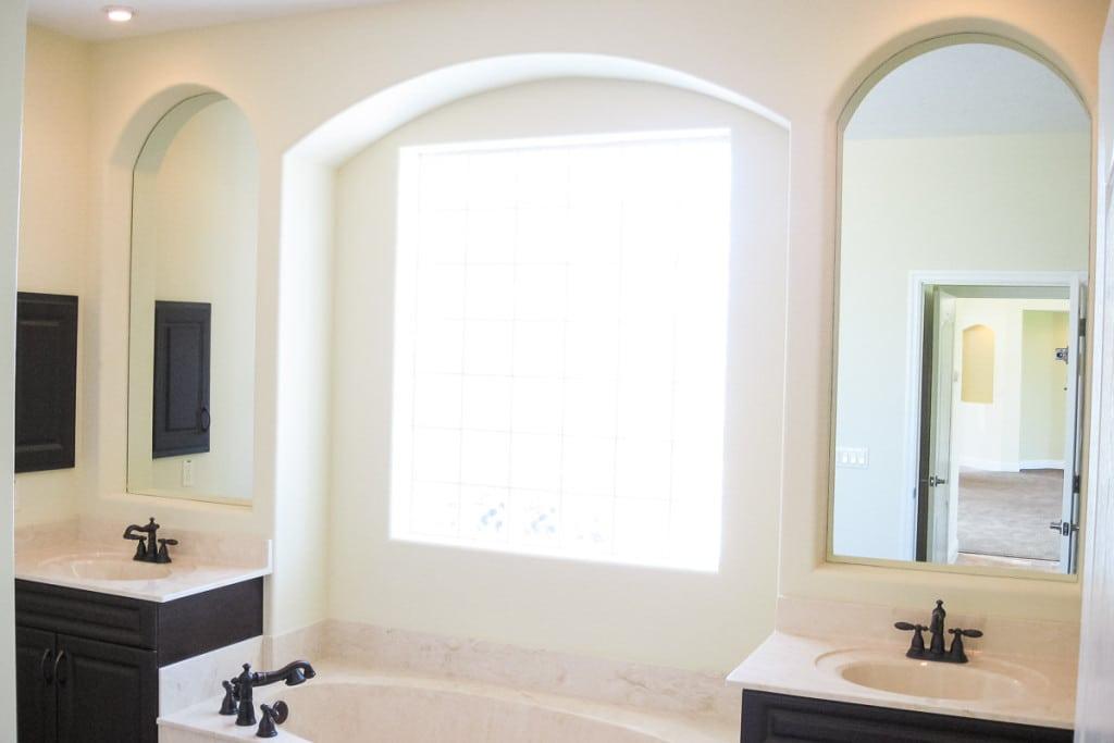 Jamestown - Master Bathroom Vanity Tub - Curington Homes - Ocala Florida Contractor