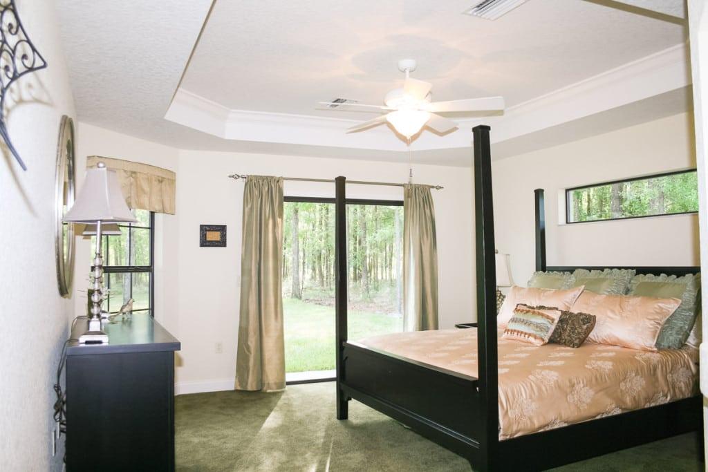 Jamestown - Master Bedroom - Curington Homes - Ocala Florida Contractor
