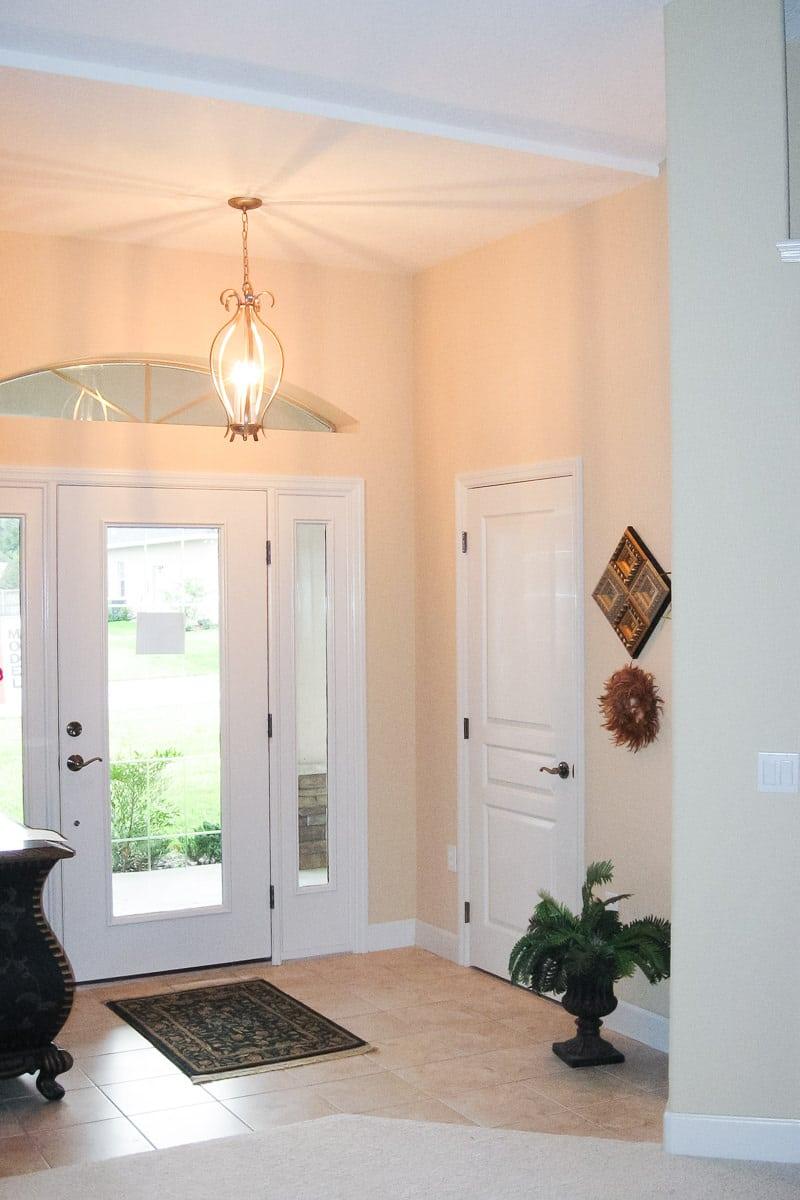Foyer Hallway Florida : Sebastian entry foyer curington homes ocala florida