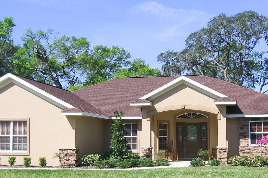Sebastian - Front Exterior - Curington Homes - Ocala Florida Contractor