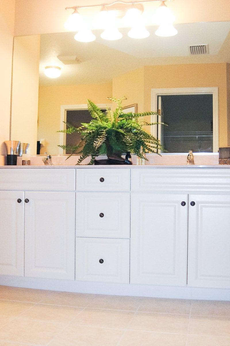 Sebastian Master Bathroom Vanity Curington Homes