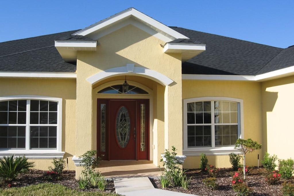 Wellington - Front Entry - Curington Homes - Ocala Florida Contractor