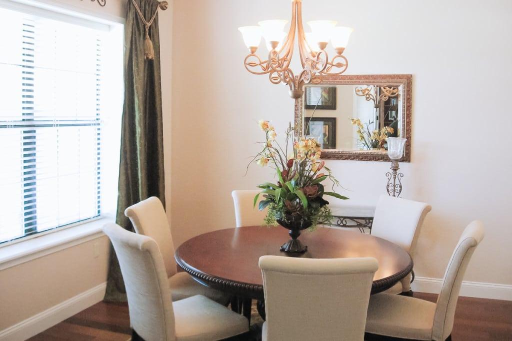 Wellington - Dining Room - Curington Homes - Ocala Florida Contractor