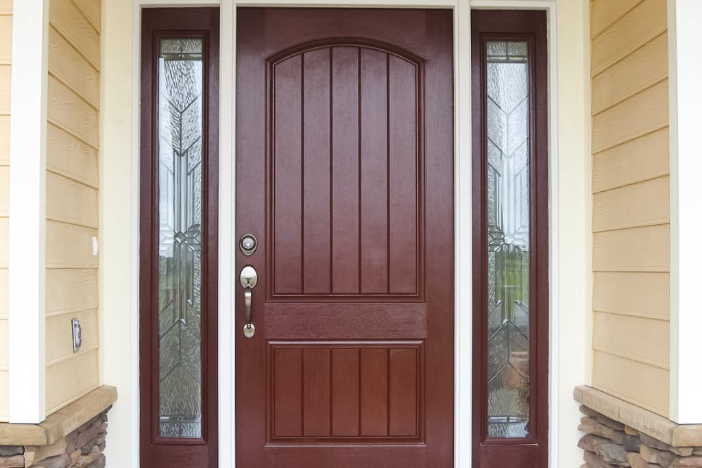 Wellington - Front Door Exterior - Curington Homes - Ocala Florida Contractor