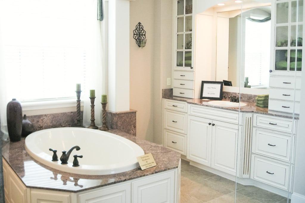 Wellington - Master Bathroom Vanity - Curington Homes - Ocala Florida Contractor