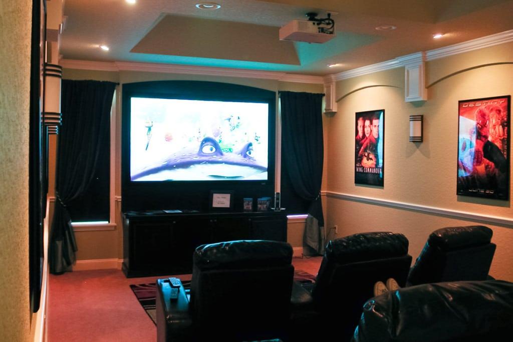 Wellington - Theater Room - Curington Homes - Ocala Florida Contractor