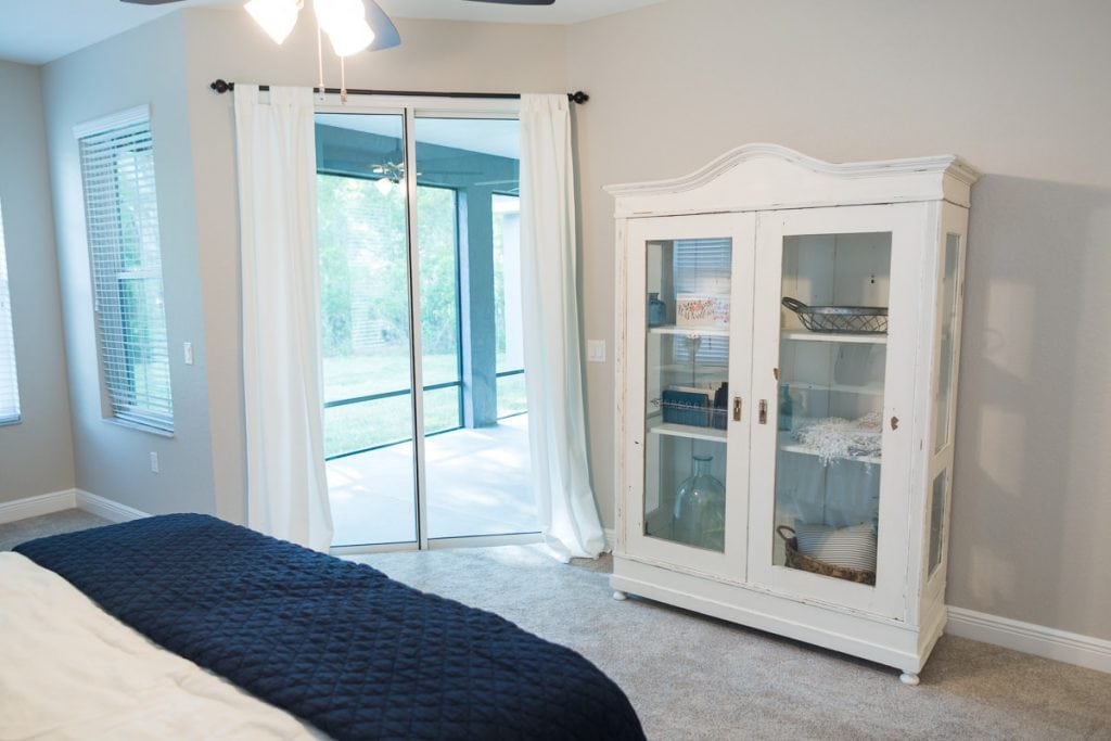 Curington Homes - Ocala Florida Home Builder - Sebastian Model Summerset Estates - Master Bedroom