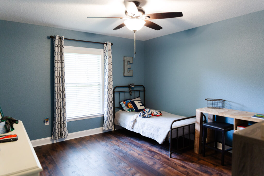 Custom Home Builder in Ocala Florida - Curington Homes - Drifton Kids Bedroom