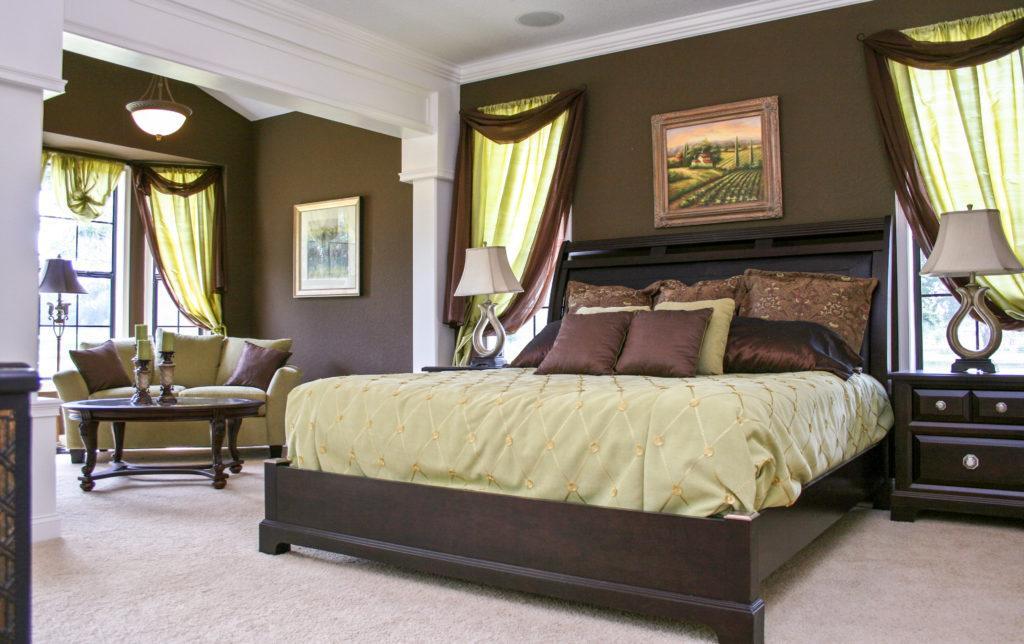 Curington Homes - Ocala Florida Home Builder - Wellington V - Bedroom