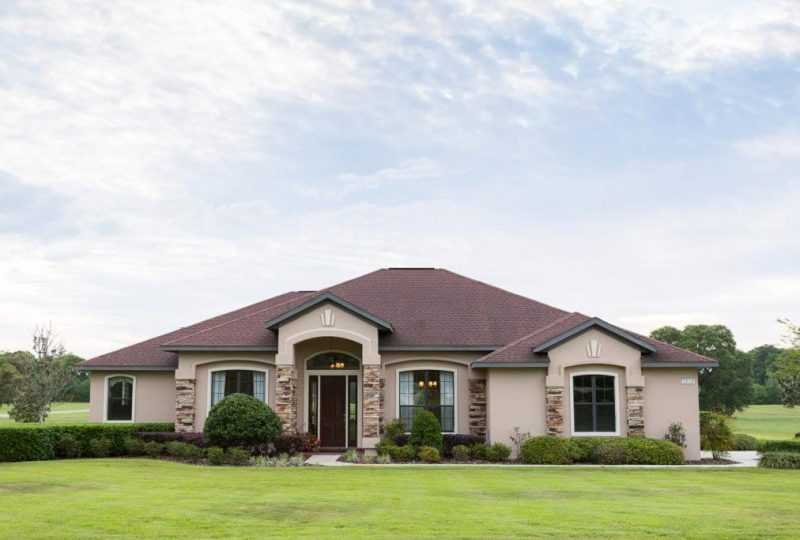 Home Builder in Ocala, Florida - Windemere - Front Exterior - Curington Homes