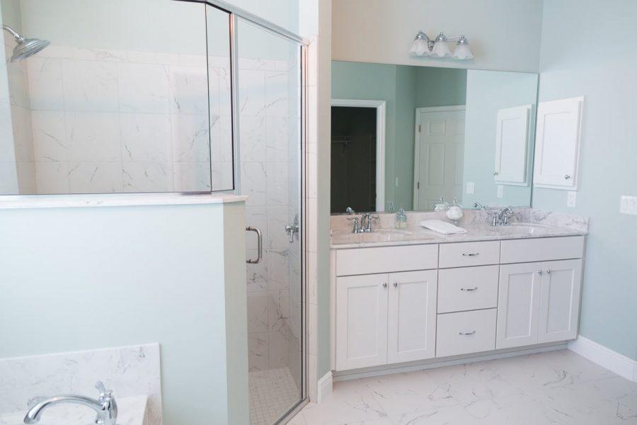 Curington Homes - Ocala Florida Home Builder - Sebastian Model Summerset Estates - Master Bathroom