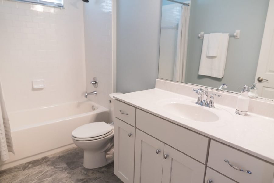Curington Homes - Ocala Florida Home Builder - Sebastian Model Summerset Estates - Bathroom