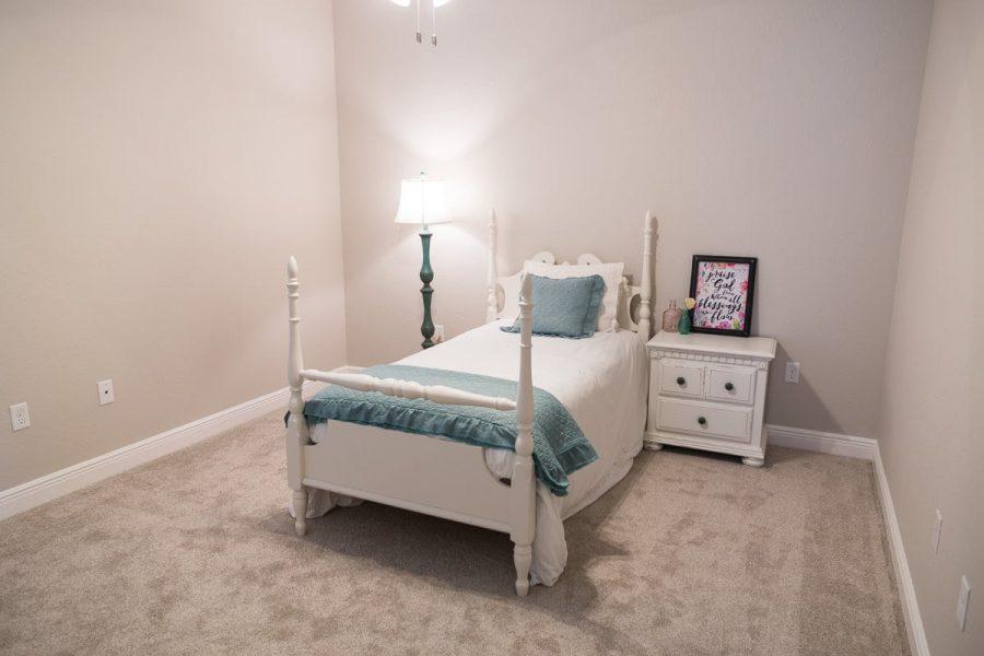 Curington Homes - Ocala Florida Home Builder - Sebastian Model Summerset Estates - Bedroom