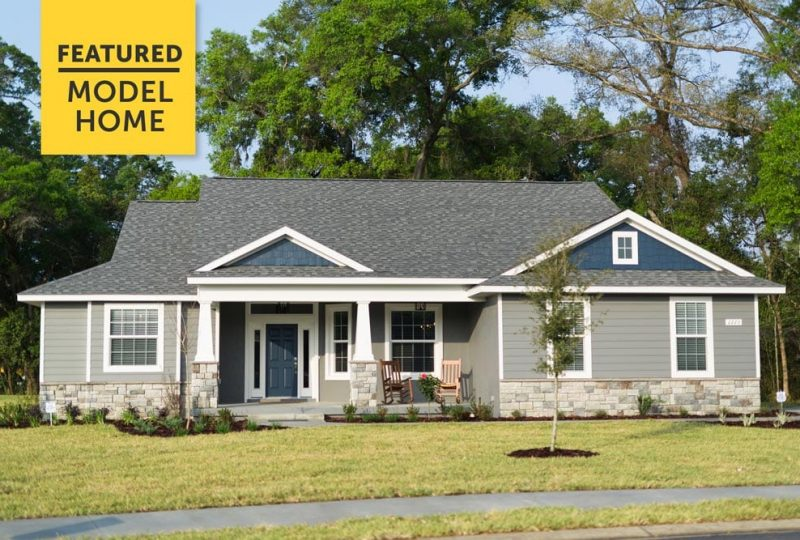 Home Builder In Ocala Florida - Curington Homes Model Home
